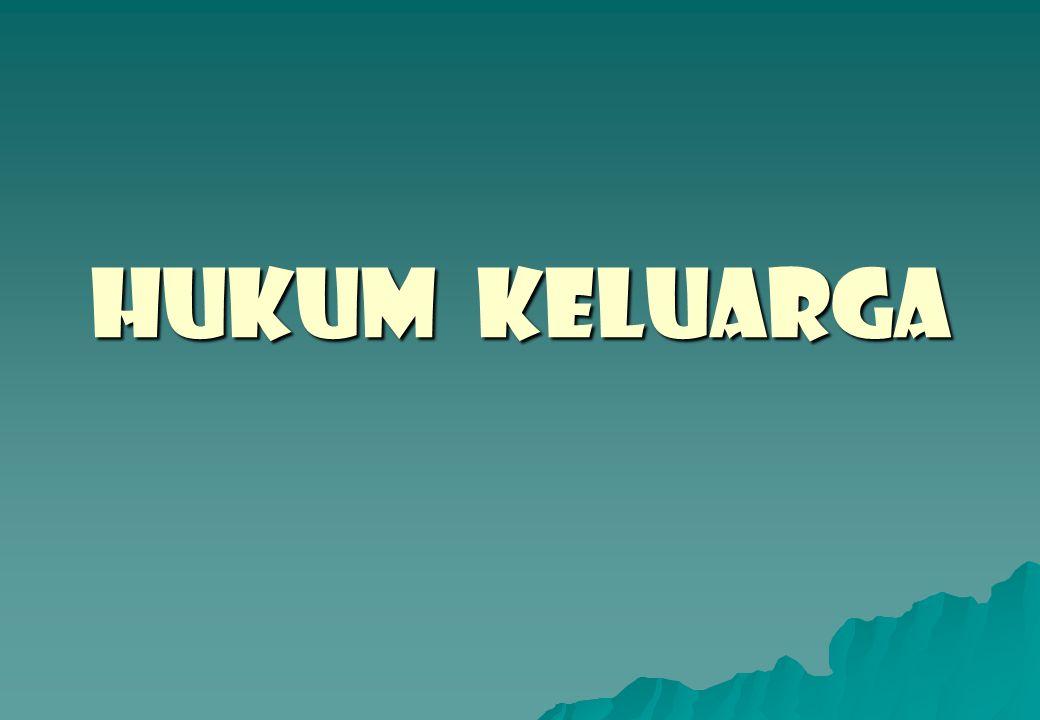 HUKUM KELUARGA