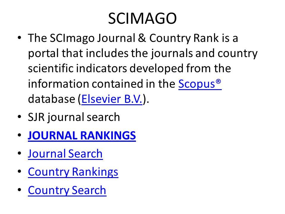 JOURNAL RANKINGS Ranking Parameters: Subject Area: [ada beberapa pilihan] Agricuture and Biological Science Subject Category: [ada beberapa pilihan] Region/Country: Pakistan Misalnya dipilih: ASIAN JOURNAL OF CROP SCIENCE [Pilihan lanjutan] scoup source