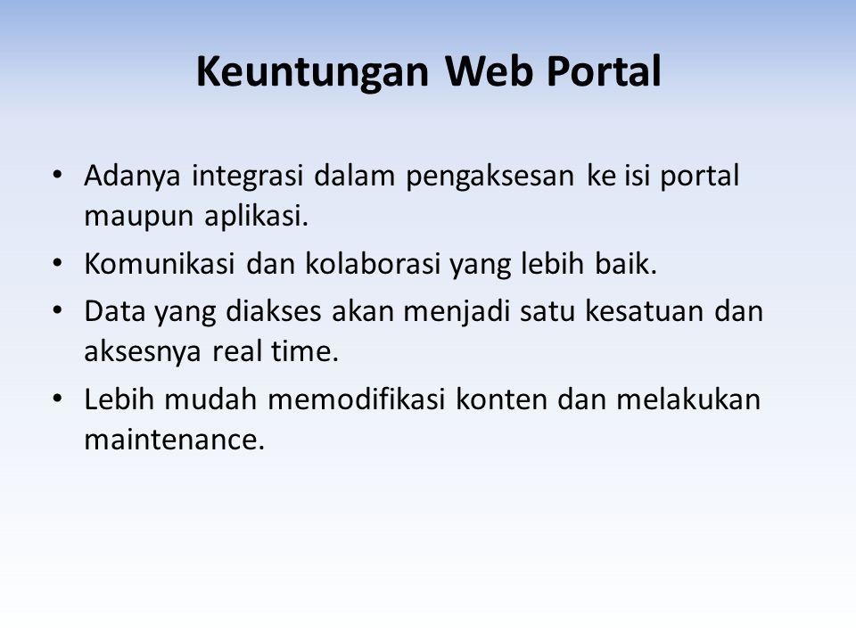 Web Portal Kemenag Gerbang/Pintu masuk terhadap berbagai macam Informasi dan layanan Kementerian melalui Website pada Tingkat Pusat dan Daerah, juga berbagai macam aplikasi terkait.