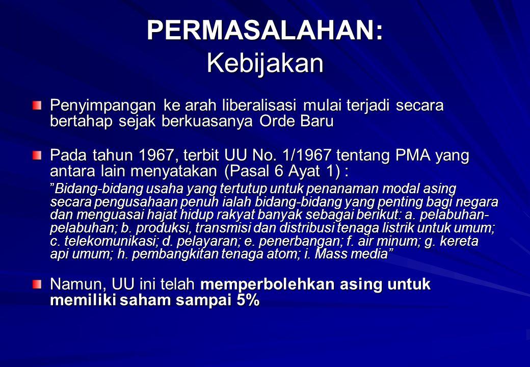 Penyelamatan dan pemanfaatan sumber daya alam serta masa depan ekonomi Indonesia bergantung pada komitmen semua pihak, khususnya para penyelenggara negara, untuk melaksanakan konstitusi secara konsisten dan konsekuen.