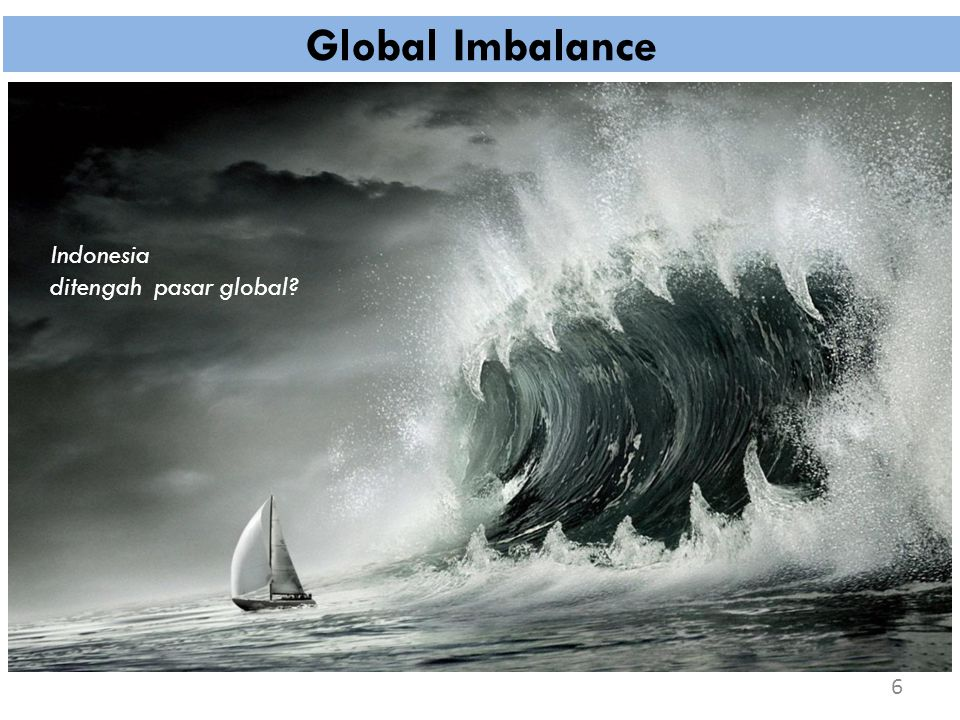 Global Imbalance 6 Indonesia ditengah pasar global?