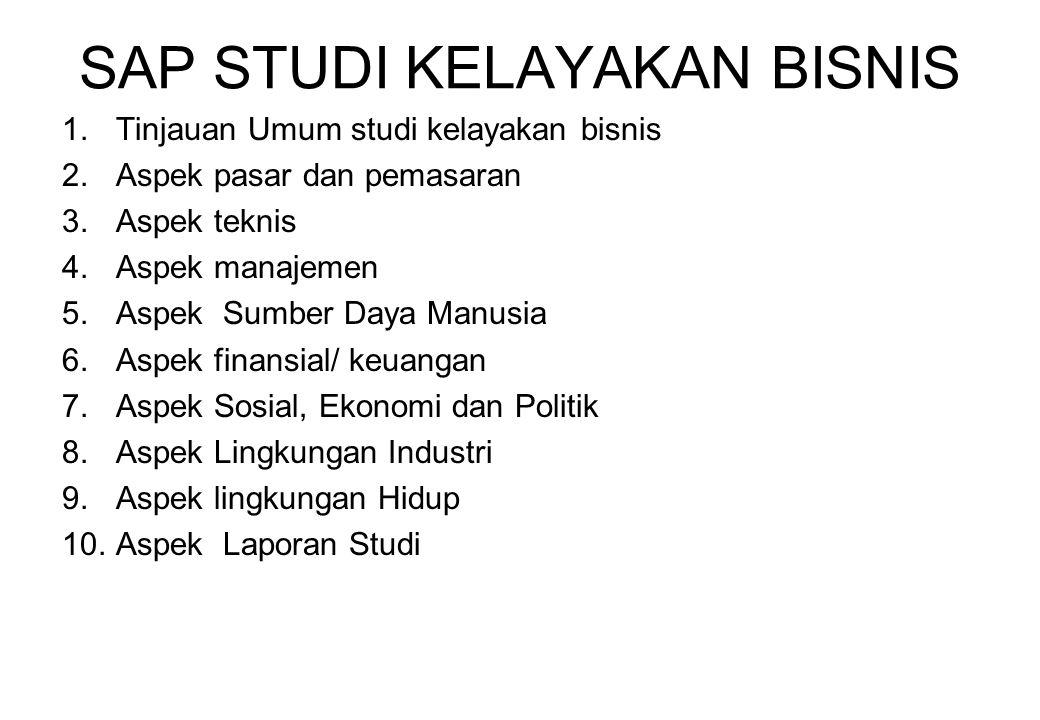 BUKU 1.Studi Kelayakan Bisnis Teknik menganalisis kelayakan rencana bisnis secara komprehensif Husein Umar.