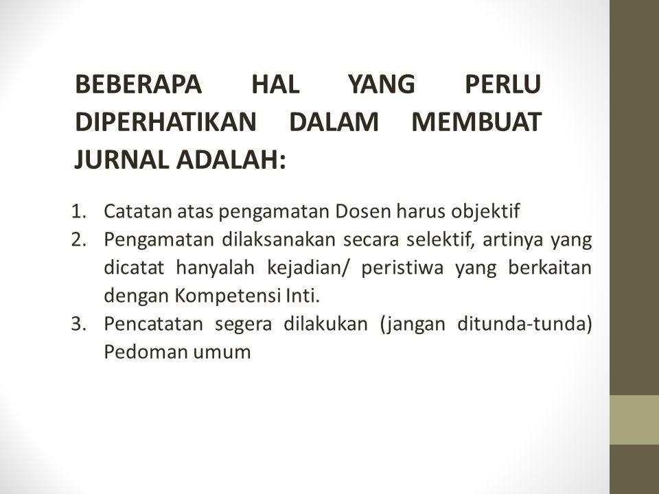 No.Hari/ Tanggal Nama peserta didik Kejadian Aspek yang diamati 1.