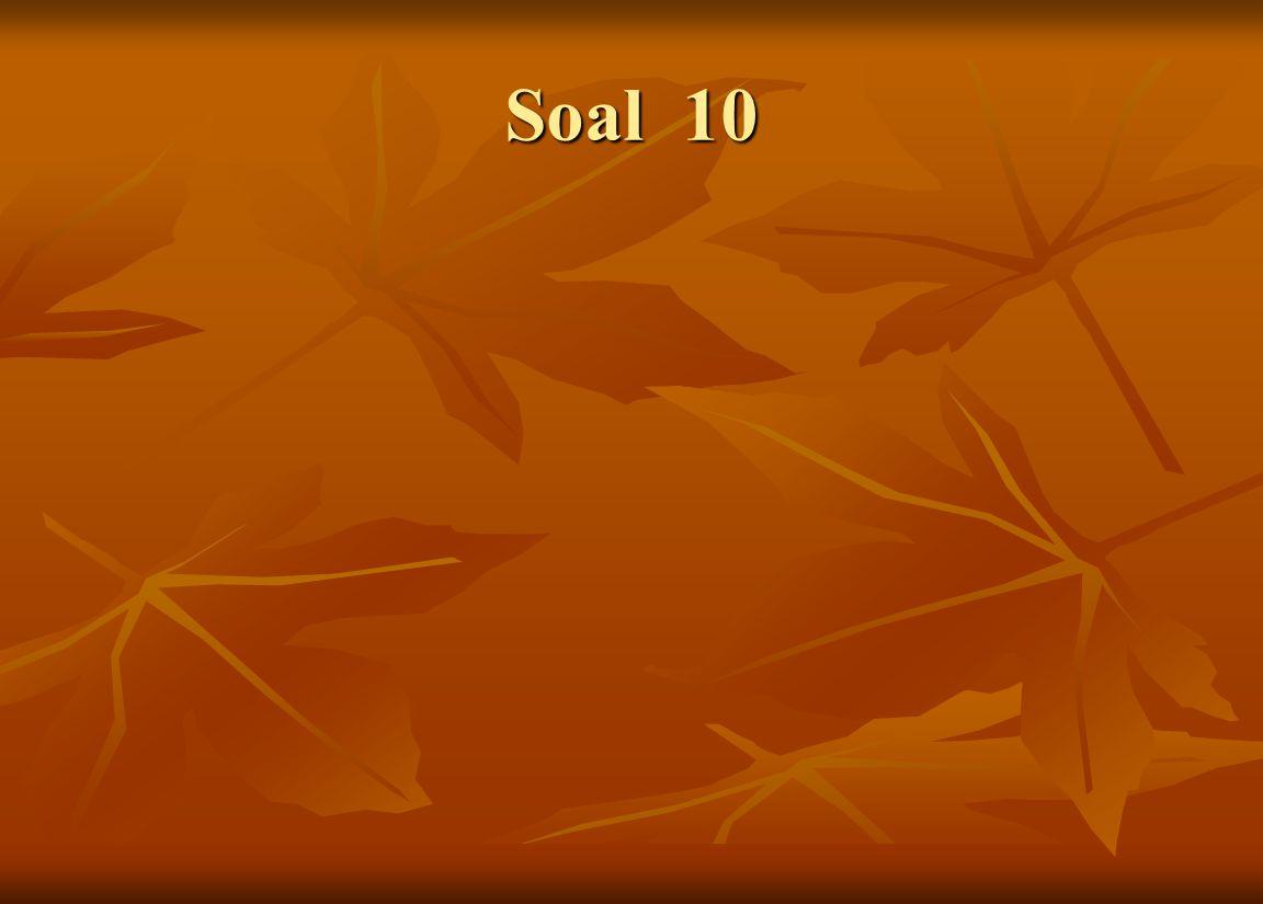 Soal 10