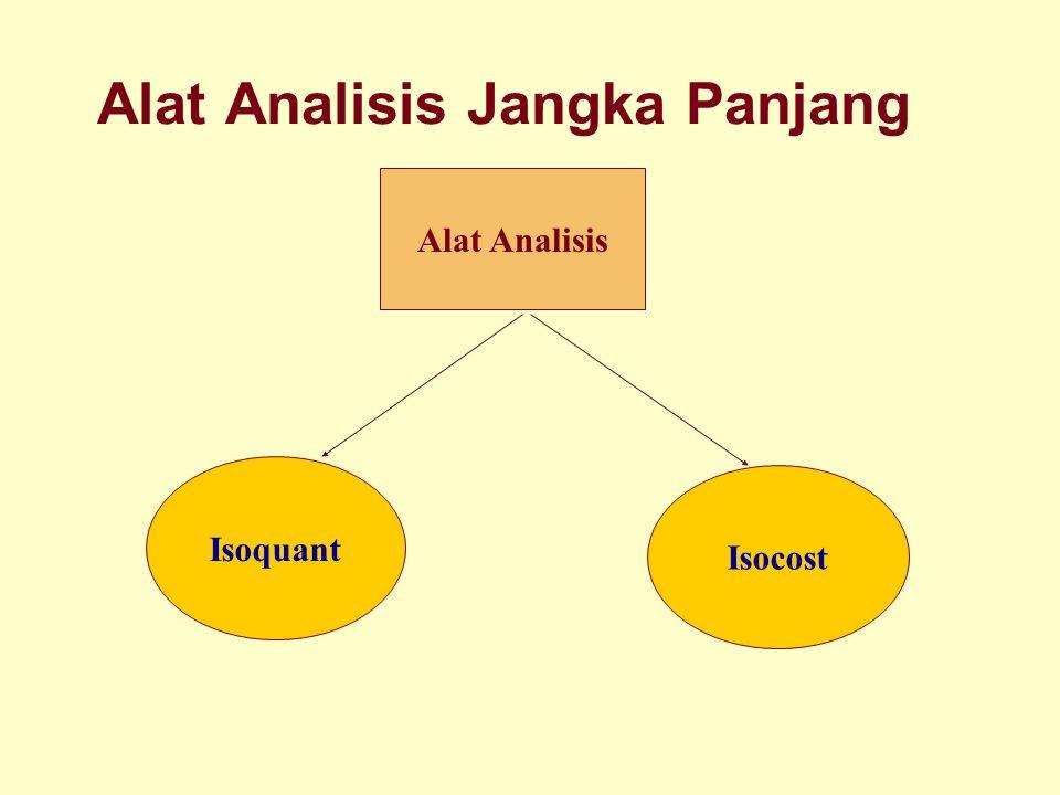 Dinnul Alfian Akbar 2007 Alat Analisis Jangka Panjang Isoquant Isocost Alat Analisis