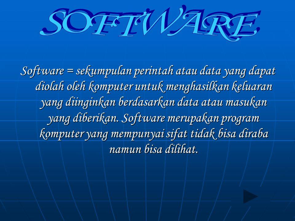 Softcopy Device Merupakan media output yang menampilkan sinyal elektornik Merupakan media output yang menampilkan sinyal elektornik Video Display unit