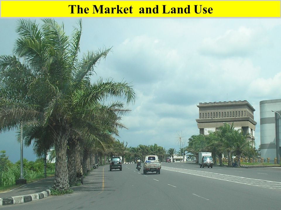 The Market and Land Use