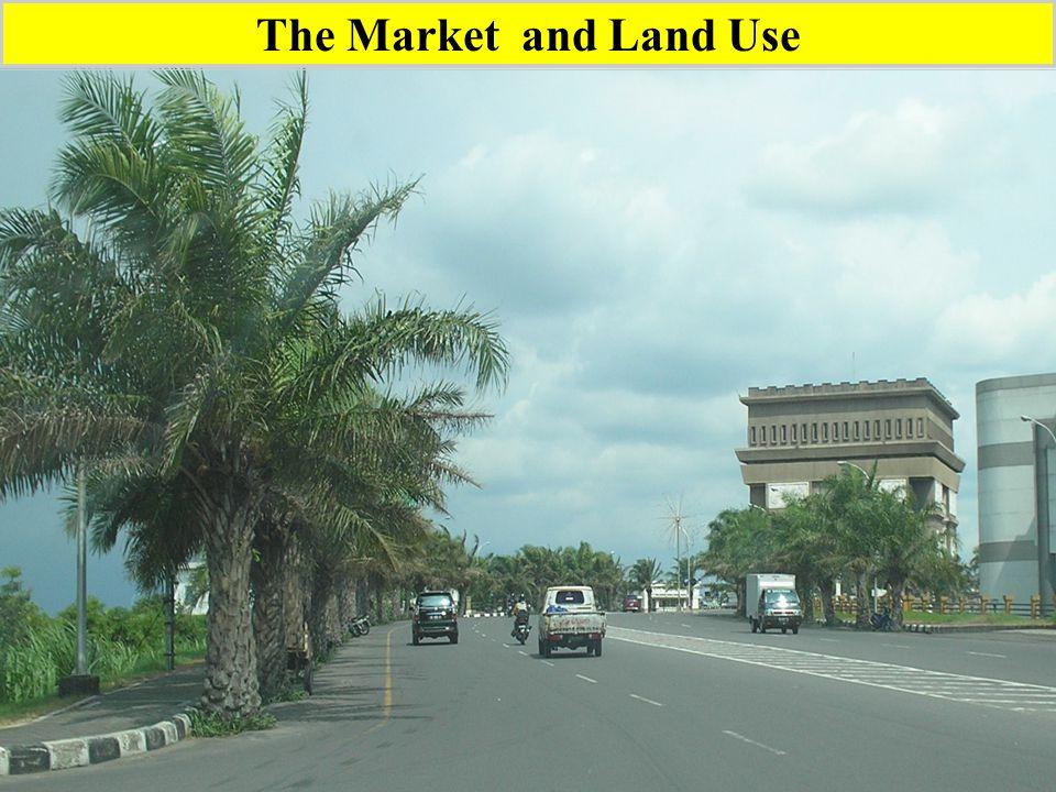 GENERALIZED PROFILE OF LAND USE BY ECONOMIC VALUE.