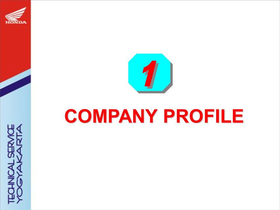 POKOK BAHASAN : 1.Company Profile 2. Teknologi Sepeda Motor Honda 3.