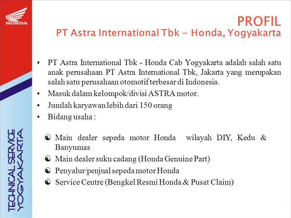 Kini PT Astra International Tbk (Perseroan) adalah sebuah perusahaan publik yang memiliki enam bidang usaha, yaitu : Divisi Otomotif, Divisi Jasa Keuangan, Divisi Alat Berat Divisi Agribisnis, Divisi Teknologi Informasi Infrastruktur ASTRA SAAT INI