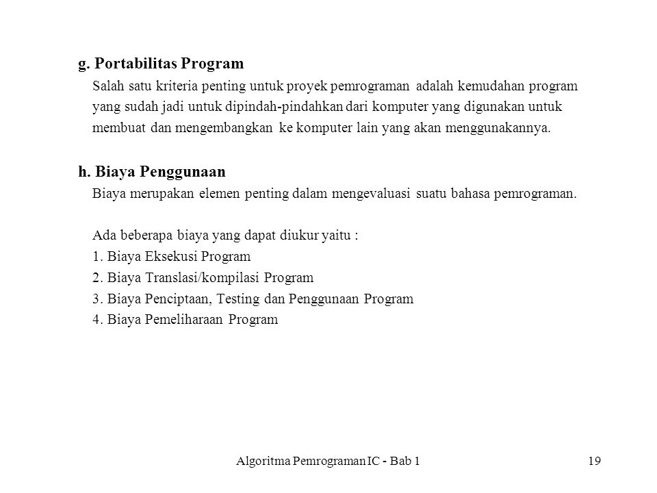 Algoritma Pemrograman IC - Bab 119 g.