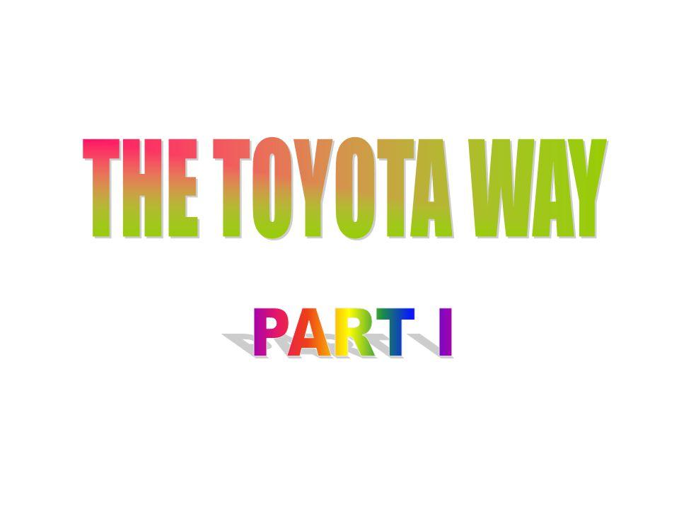 MENGAPA TOYOTA  TOYOTA termasuk produsen terbesar ke-3 di dunia setelah GM dan Ford  Tahun 2003 Laba Toyota $ 8.13 miliar lebih besar dari laba gabungan GM, Chrysler dan Ford  Tahun 2003 penjualan mobil Toyota tertinggi di AS  Toyota mempunyai proses pengembangan produk tercepat yaitu kurang dari 12 bulan, pesaingnya rata-rata memerlukan waktu 2 tahun
