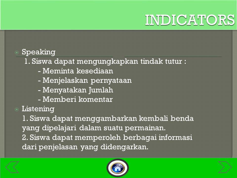 Speaking 1.