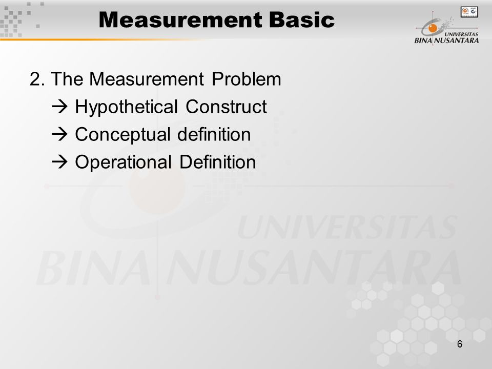 6 Measurement Basic 2.
