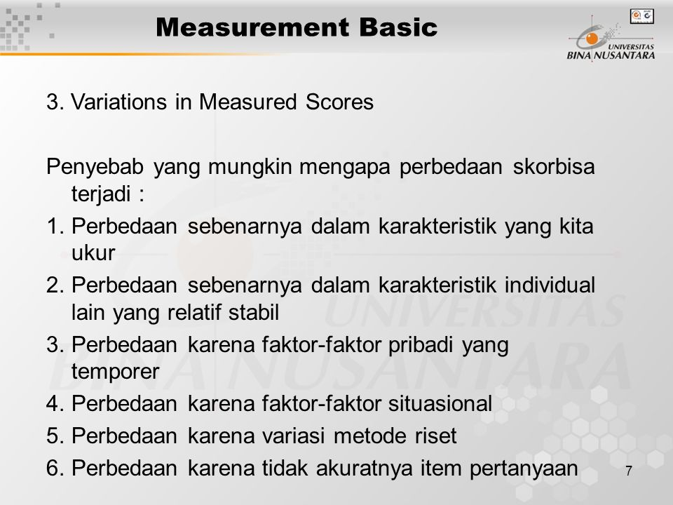 7 Measurement Basic 3.