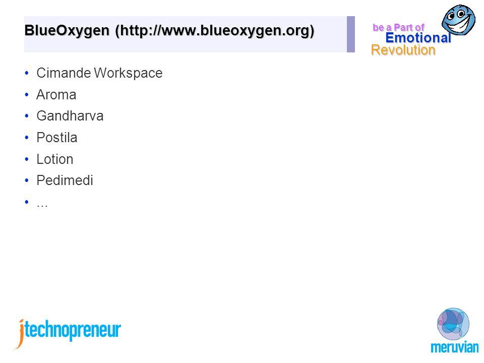 be a Part of Emotional Revolution BlueOxygen (http://www.blueoxygen.org) Cimande Workspace Aroma Gandharva Postila Lotion Pedimedi...