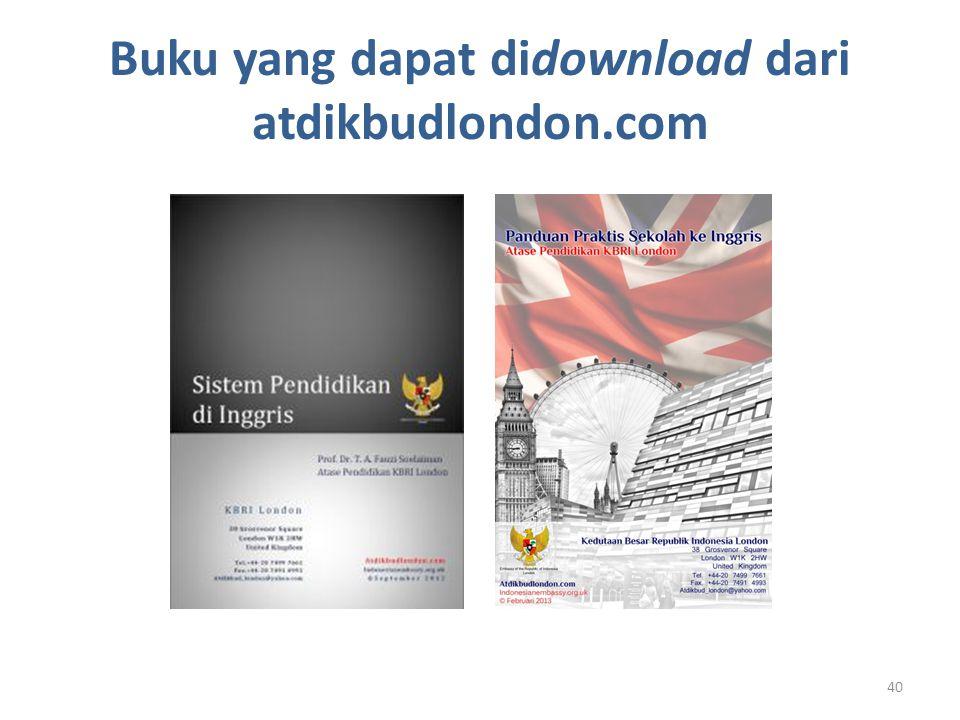 Buku yang dapat didownload dari atdikbudlondon.com 40