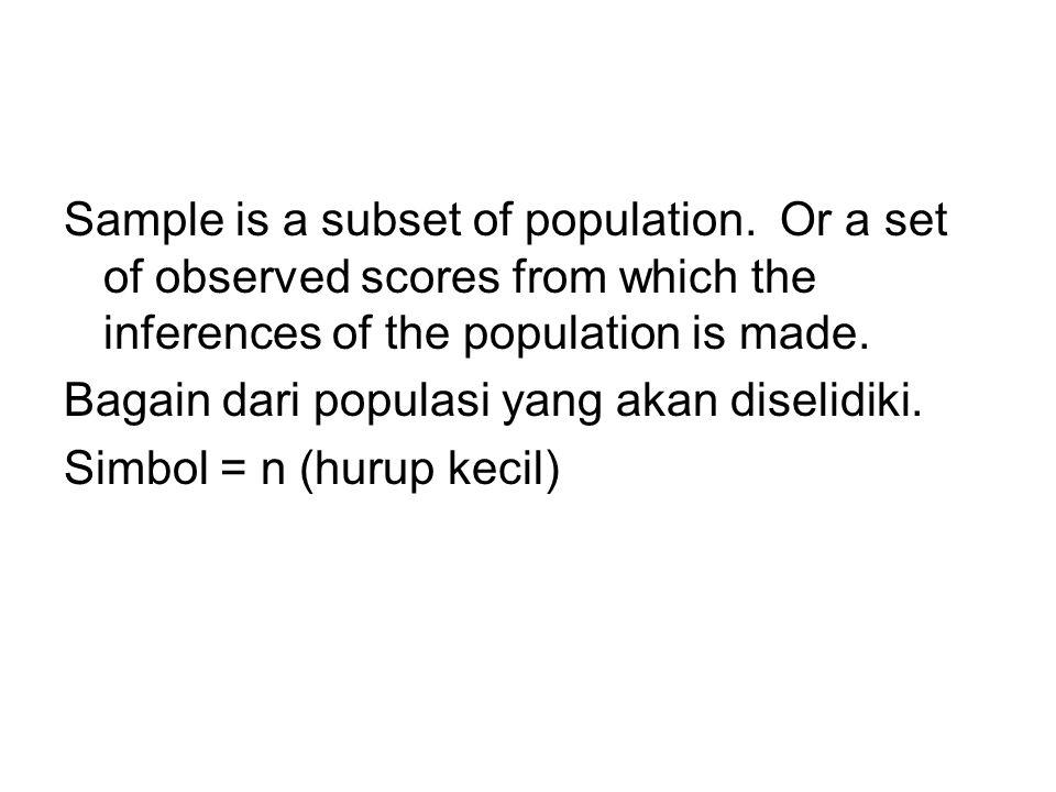 Contoh: Judul penelitian: Stress di kalangan mahasiswa UIN Jakarta.