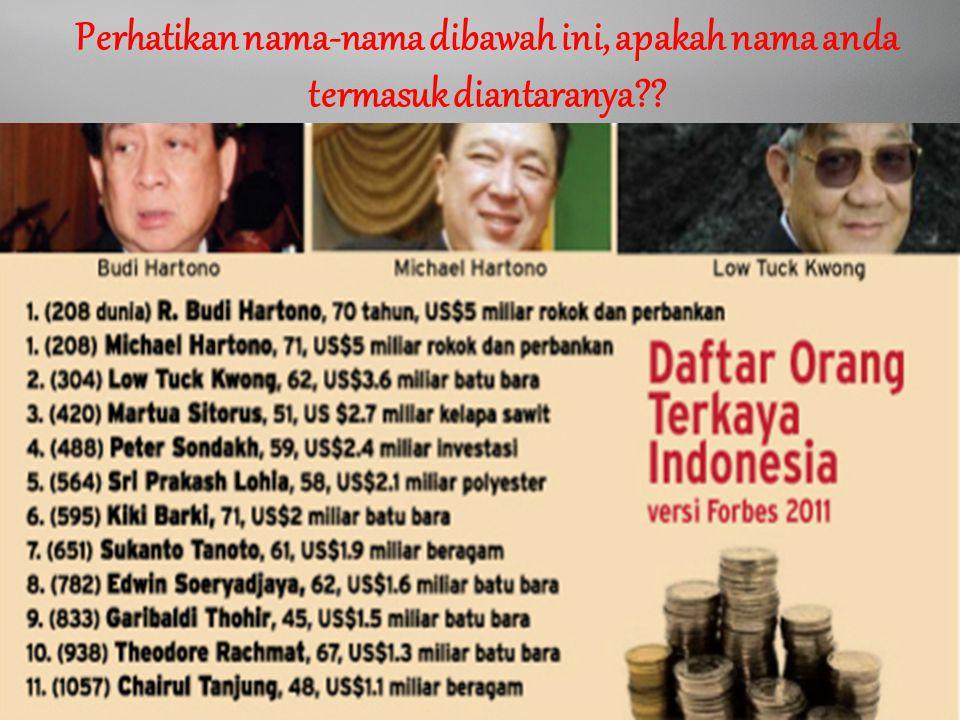 Idham Cholid Perhatikan nama-nama dibawah ini, apakah nama anda termasuk diantaranya??