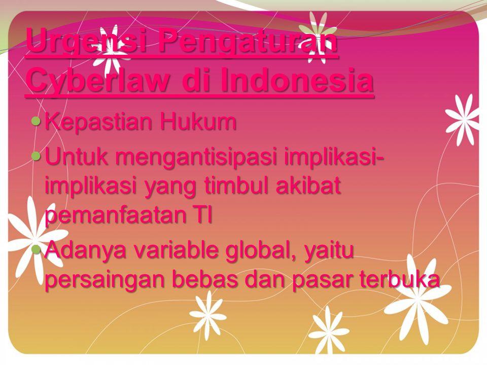 hukum ciber law di Indonesia : jurisdiksi, etika kegiatan online, Hukum Publik : jurisdiksi, etika kegiatan online, perlindungan konsumen, anti monopoli, persaingan sehat, perpajakan, regulatory body, data protection dan cybercrimes.
