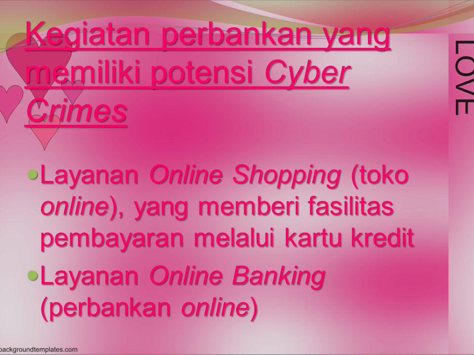 Cyber Crime adalah kejahatan konvensional yang MODERN Cyber Crime adalah kejahatan konvensional yang MODERN Metodologi Ilmu Hukum Pidana harus berdasar pada hal-hal yang nyata.