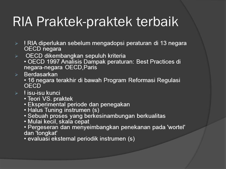 RIA Praktek-praktek terbaik  .