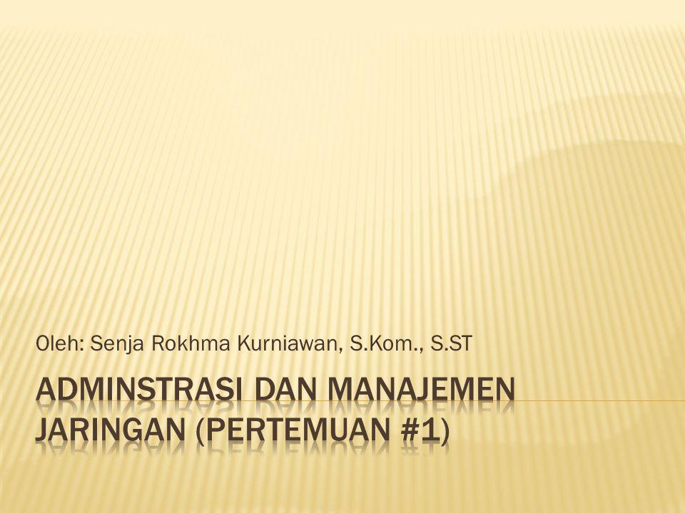Oleh: Senja Rokhma Kurniawan, S.Kom., S.ST