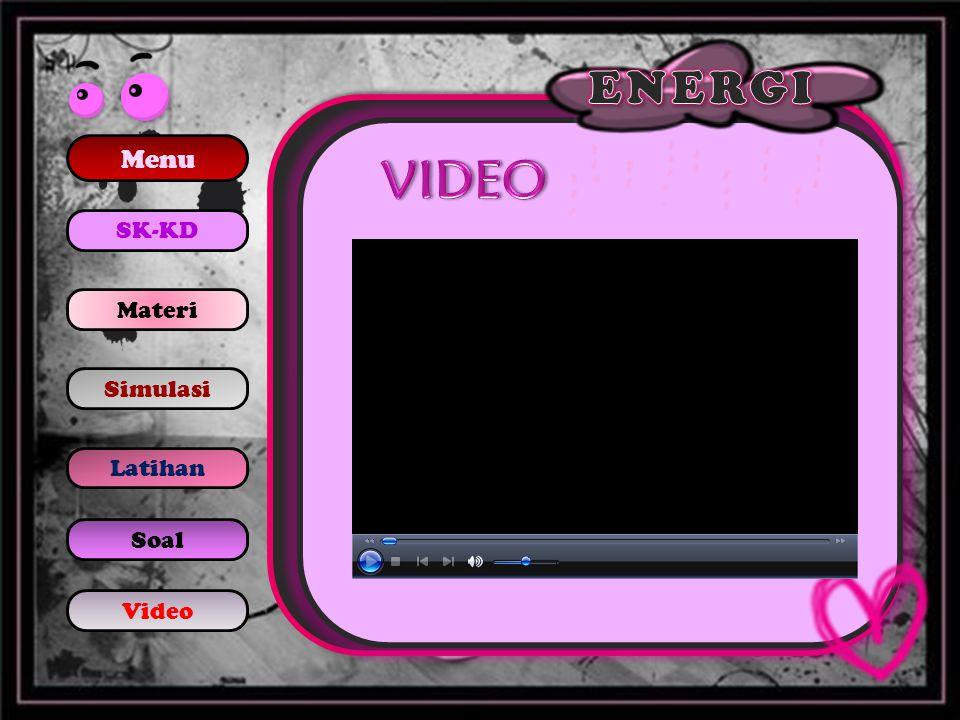 Menu SK-KD Materi Simulasi Latihan Soal Video