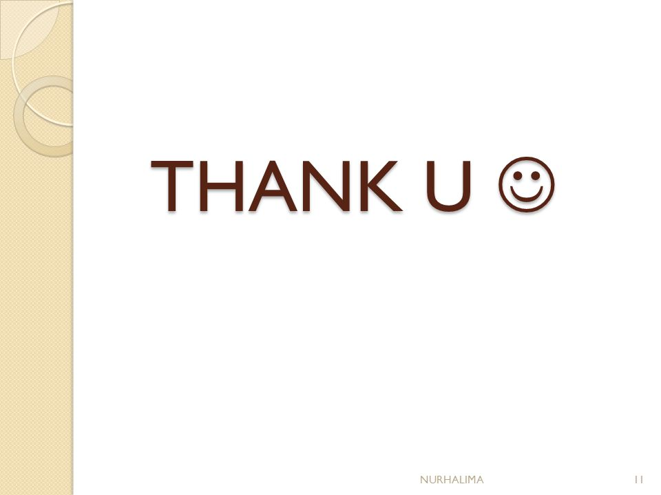 THANK U THANK U NURHALIMA11