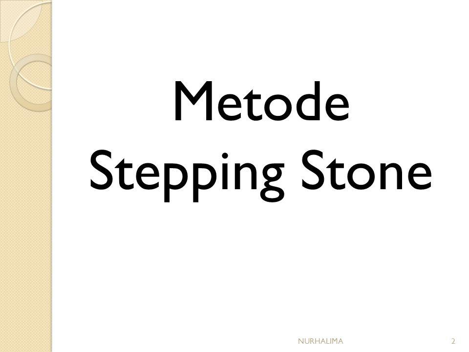 Metode Stepping Stone NURHALIMA2
