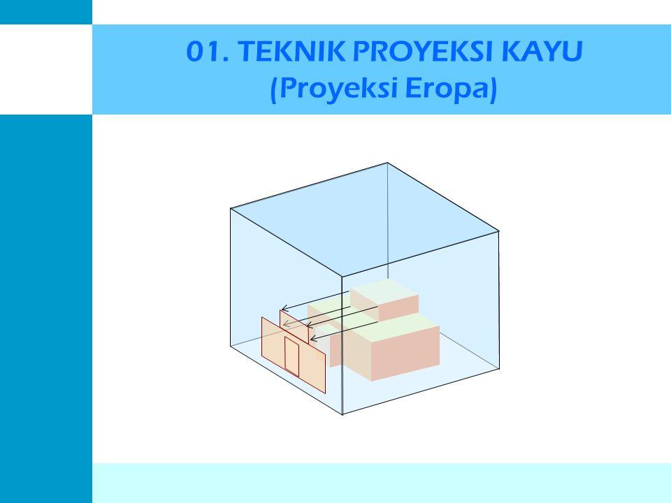 01. TEKNIK PROYEKSI KAYU (Proyeksi Eropa)