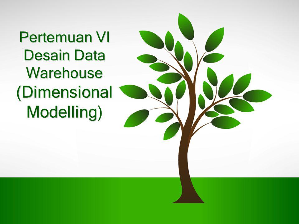 Pertemuan VI Desain Data Warehouse (Dimensional Modelling Pertemuan VI Desain Data Warehouse (Dimensional Modelling)