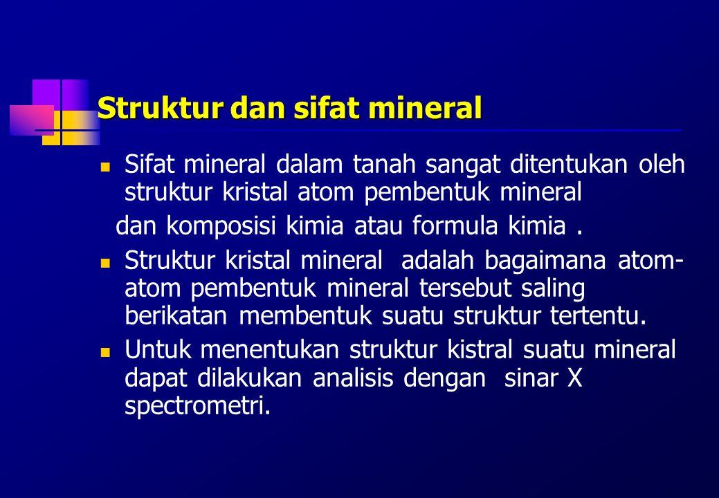 Reaksi asam-basa dan ionexchange dalam tanah Tanah mempunyai kemampuan mempertukarkan kation.