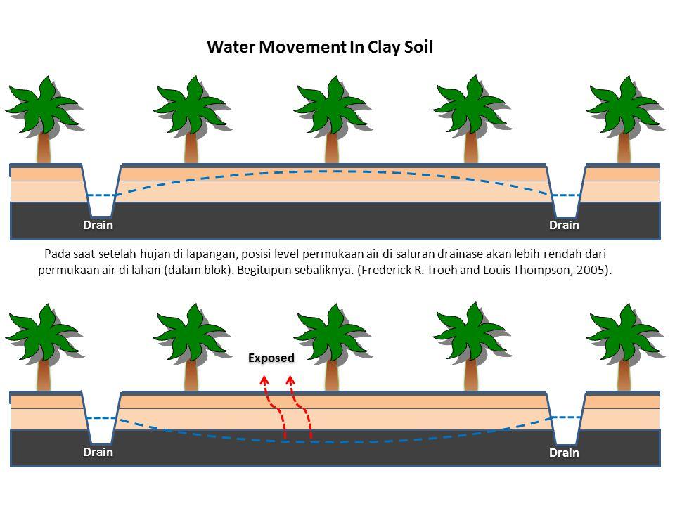 Jika oksidasi tidak dapat dicegah, maka perlu dilakukan pencucian (leaching) dan aplikasi bahan pembenah tanah dan pengapuran untuk mengurangi keracunan dan kemasaman tanah.
