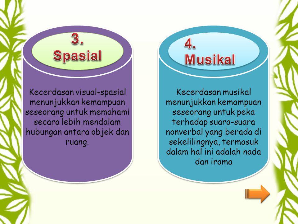 Kecerdasan ini ditunjukkan dengan kepekaan seseorang pada bunyi, struktur, makna, fungsi kata, dan bahasa Kecerdasan ini ditandai dengan kepekaan pada