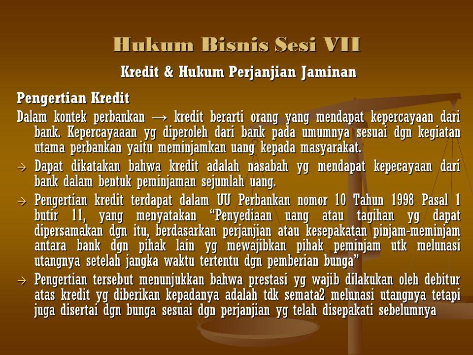 Hukum Bisnis Sesi VII b.
