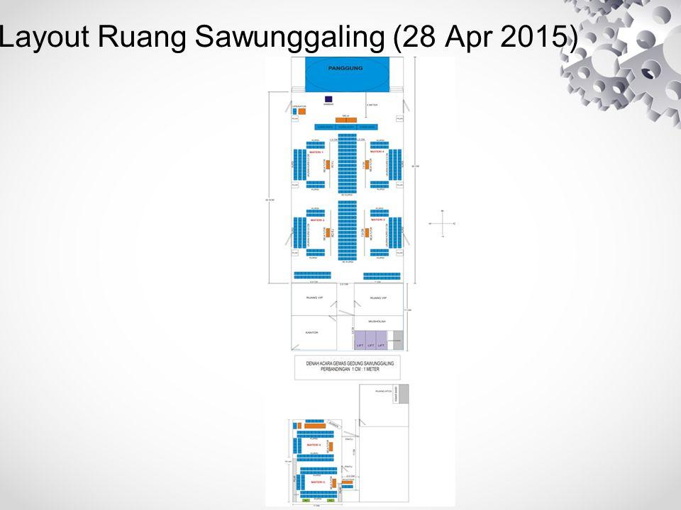 Layout Ruang Sawunggaling (28 Apr 2015)