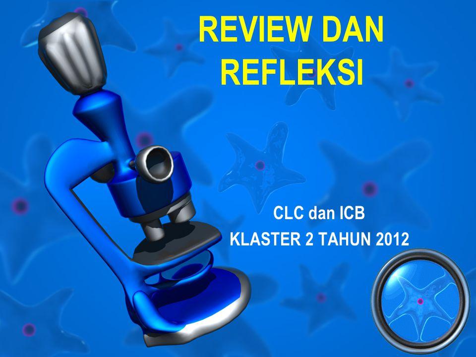 REVIEW DAN REFLEKSI CLC dan ICB KLASTER 2 TAHUN 2012