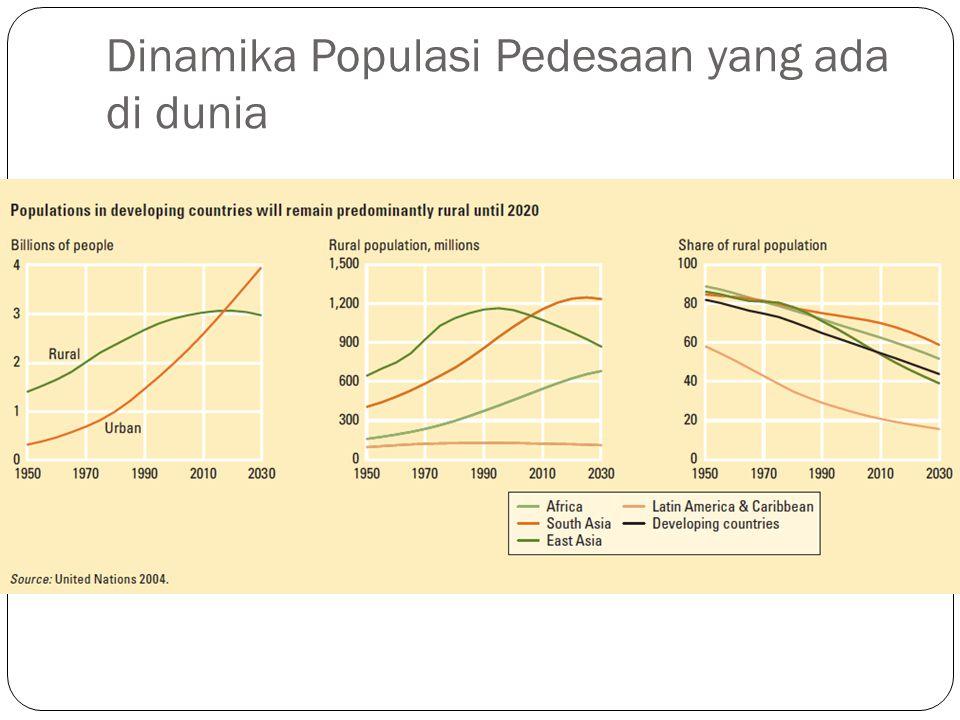 Dinamika Populasi Pedesaan yang ada di dunia