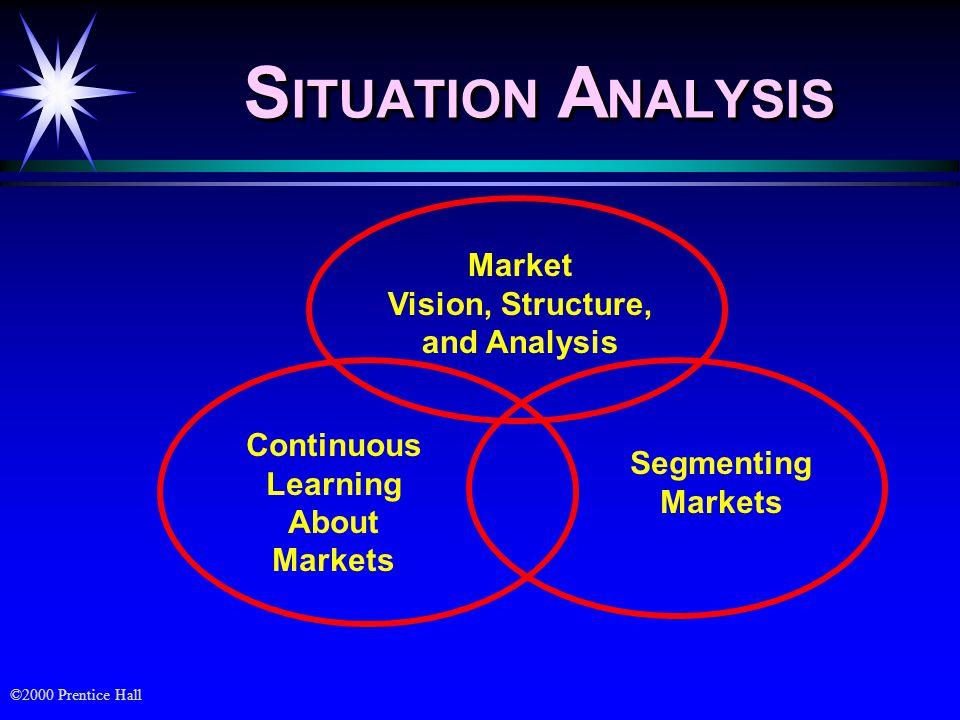 ©2000 Prentice Hall Disigning Marketing Strategy ä Market targeting and strategic positioning ä Tujuan market targeting strategy : adalah untuk memilih orang atau organisasi yang ingin dilayani kebutuhannya pada pasar produk.