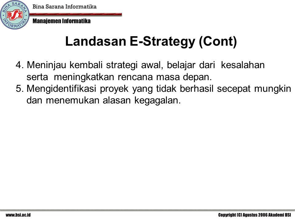 4.Meninjau kembali strategi awal, belajar dari kesalahan serta meningkatkan rencana masa depan.