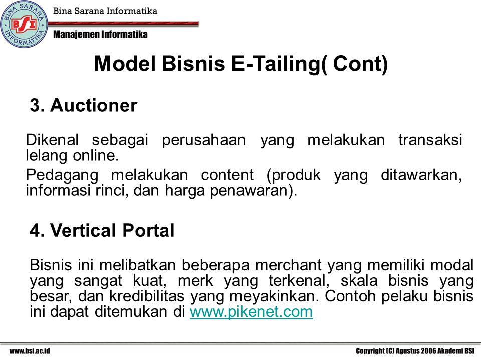 3.Auctioner Dikenal sebagai perusahaan yang melakukan transaksi lelang online.
