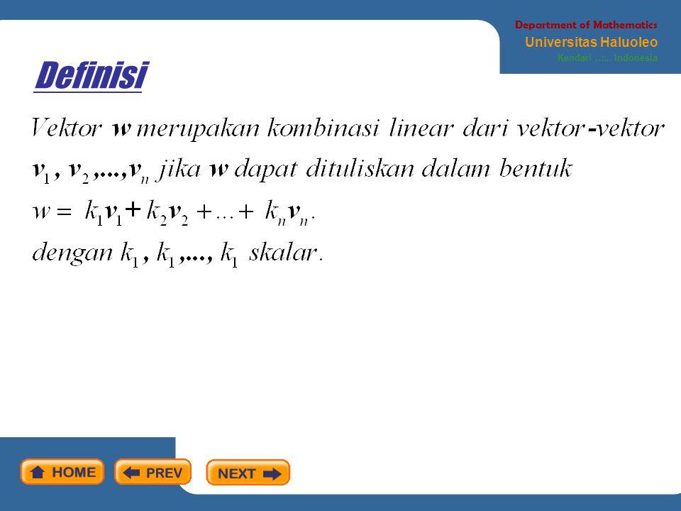 Teorema Department of Mathematics Universitas Haluoleo Kendari..::.. Indonesia