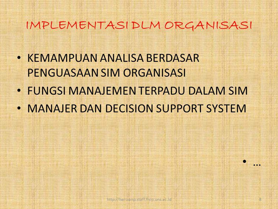 Kerangka SIM Pada Organisasi Publik SIM merupakan konsep yang penting dalam Organisasi Publik yang fokus pada ilmu sosial.