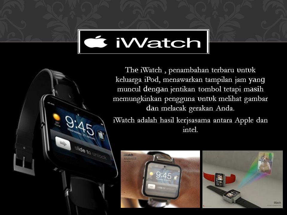 Th е iWatch, penambahan terbaru υ nt υ k keluarga iPod, menawarkan tampilan jam уа n ɡ muncul е n ɡ а n jentikan tombol tetapi m аѕі h memungkinkan pe