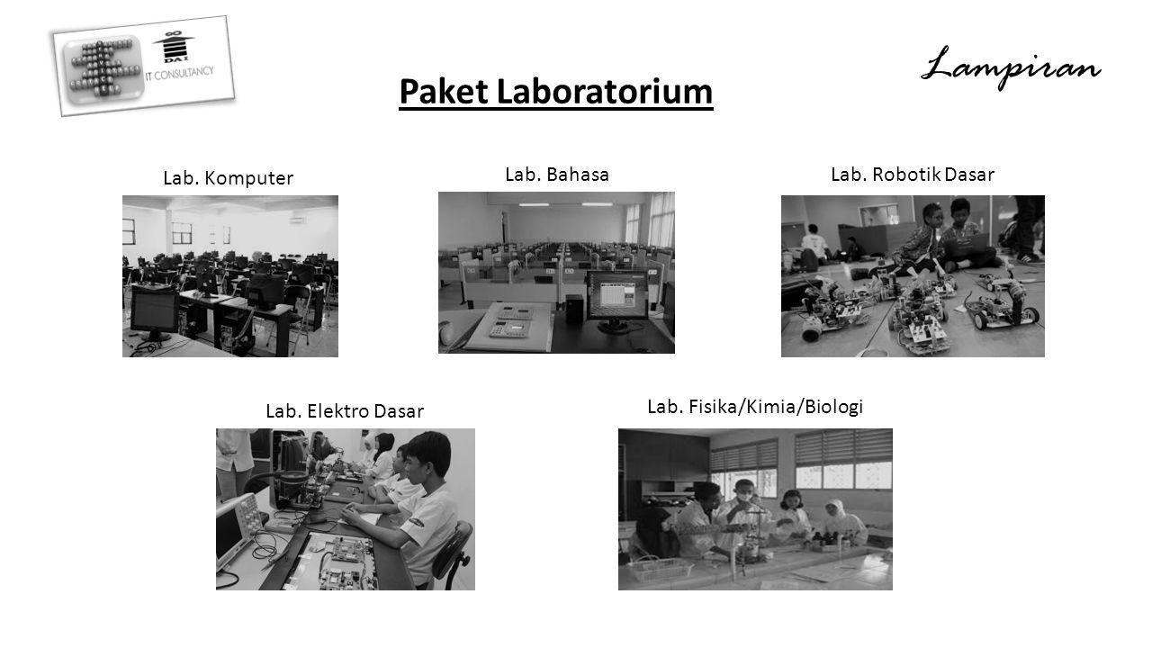 Lampiran Paket Laboratorium Lab.Komputer Lab. BahasaLab.