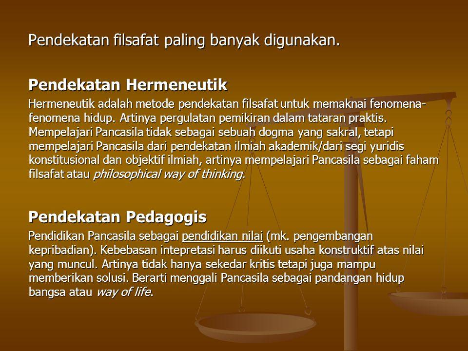 NILAI FILOSOFIS SILA KETUHANAN YANG MAHA ESA HUBUNGAN ANTARA NEGARA DAN RELIGI Soekarno menemukan fakta bahwa pada dasarnya orang Indonesia adalah berTuhan.