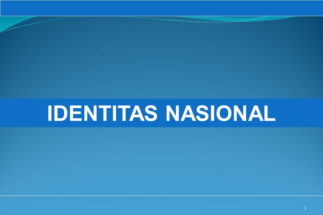 UM10-080 PANCASILA DAN KEWARGANEGARAAN 1 IDENTITAS NASIONAL