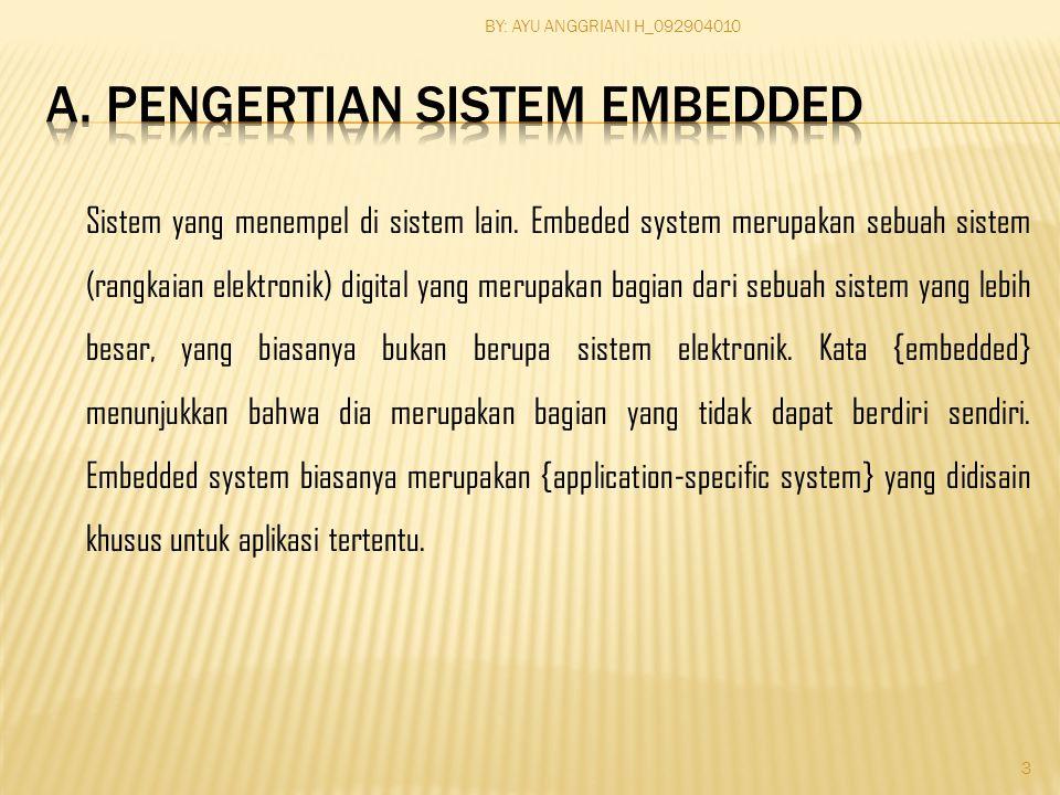 Sistem yang menempel di sistem lain.