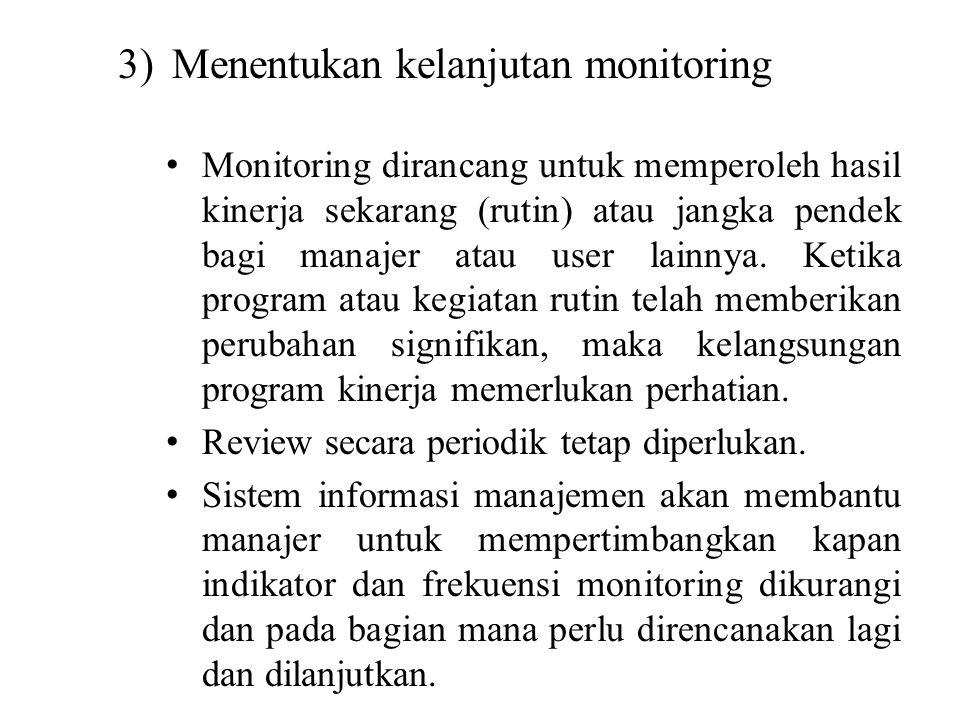"""c)Temuan dalam monitoring : apakah ada penyimpangan, bila ada perlu diidentifikasi masalah penyebabnya. Hasil temuan di feedback""""kan kepada semua staf"""